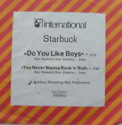 7 1974 Glam In Rare German Promo Sleeve Mint- Starbuck Do You Like Boys