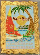 Hard Rock Cafe San Diego 2003 Gm Conference Leadership Staff Pin Le 250 25467