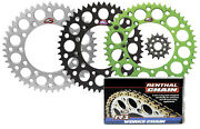 Renthal Ultralight Front And Rear Sprocket And R1 Chain Kit 1999-2007 Kawasaki Kx250