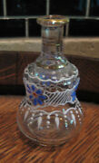 Antique French Doll Enamel Glass Water Carafe