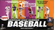 2015 Topps Heritage High Number Baseball Hobby 12 Box Case Blowout Cards