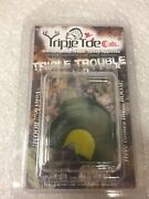 6047 Triple Toe Calls Triple Trouble 3 Pack Snakebite Batwing And Cutter