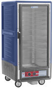 Metro C537-cfc-l-bu 3/4 Mobile Holding/proofing Cabinet Lip Load W/ Clear Door