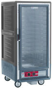 Metro C537-cfc-l-gy 3/4 Mobile Holding/proofing Cabinet Lip Load W/ Clear Door