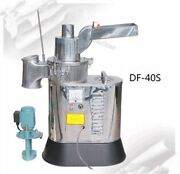 Mill Pulverizer 40kg/h Automatic Df-40s Continuous Hammer Mill Herb Grinder Re
