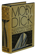 Moby Dick Herman Melville First Edition Thus Dust Jacket 1930 Rockwell Kent