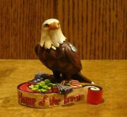 Jim Shore Heartwood Creek Minis 4037682 Patriotic Eagle, New From Retail Store