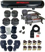 1/2 Valves Blk 7 Switch Pewter Compressors Air Suspension Kit For 65-70 Impala