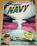 Fightinand039 Navy 74 Fn- January 1956 - Charlton Comics - Silver Age War 1st Issue