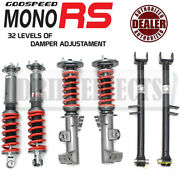 For Bmw 3-series 92-98 E36 Monors Coilovers-true Conversion W Bucket Delete Arms