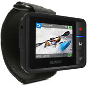 Removu R1+waterproof Wi-fi Live View Remote For Gopro Hero3+4-5-6 Rmr1p 2lcd