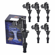Set Of 6 Herko Ignition Coil B259 For Infiniti Nissan J30 300zx 1990-1997