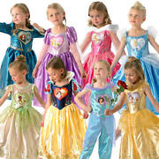 Loveheart Disney Princess Girls Fancy Dress Fairytale Book Day Childs Costumes