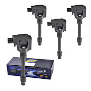 Set Of 4 Herko Ignition Coil B263 For Honda Fit Civic 2015-2017