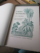 Green Mansions By W. H. Hudson Lithographs By John De Martelly Slipcase