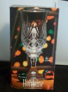 St George Hurrican Crystal Lamp 9 3/4 Tall X 4 1/4 Wide New In Box