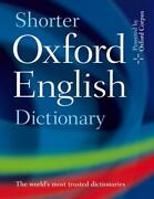 Shorter Oxford English Dictionary By Oxford Dictionaries English Hardcover Boo