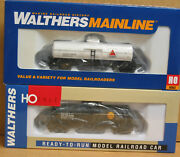 Walthers Mainline Ho 2 36' Tank Cars, 1 Citgo And 1 Shell, 20 Price Reduction
