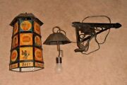 Vintage And Rare Jax Beer New Orleans Hanging Light Up Sign Very Old