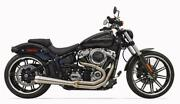 Bassani Rr3 Road Rage 3 Exhaust 2-1 Pipe Harley Softail 2018 Fatboy Breakout