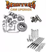 510g Sands Gear Drive Cams Set Pushrods Lifters Engine Kit Harley 88 Twin Cam