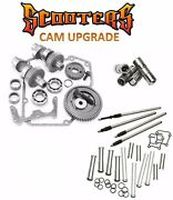 585g Sands Gear Drive Cams Set Pushrods Lifters Engine Kit Harley 88 Twin Cam