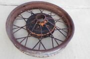 1928, 1929 Model A Ford Used Wheel. 21 Inch, Rough.
