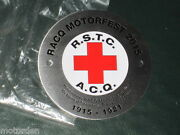 Ww1 Car Badge 2015 Racq Centenary Returned Soldiers Transport Corps Free Post