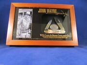 Case 2008 John Wayne Stag Canoe Knife Set Mint In Only 500 Made - Serial 406