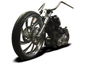Bolt On Neck And Trees To Fit 26 Wheel On A 00-07 Harley Softail B26st/07