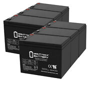 Mighty Max 12v 8ah Battery Replacement For Humminbird Fishfinder 570 - 6 Pack