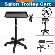 New Equipment Salon Spa Service Tray Beauty Trolley Cart With Appliance Holder