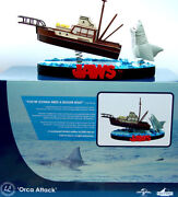 Jaws Movie Orca Attack Premium Motion Statue Limited Edition Universal Studios
