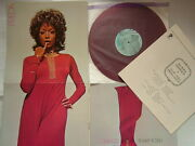 Red Vinyl / Freda Payne Contact / Poster Cover