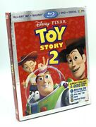 Toy Story 2 In 3d Blu-ray 3d+blu-ray+dvd+digital Copy New W/ Slipcover Oop