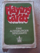 Vintage Original Germany G.d.r.playing Cards