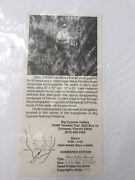 Clyde Butcher Signed Numbered 1955 Three Sisters Springs Crystal Riverfl 277/500