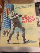 The Man From Uncle One Spy Too Many French 22x30 Poster N3037