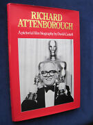 Richard Attenborough Pictorial Biography Signed By Attenborough 1st Ed In Jacket