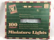 Boxed Rudolphandrsquos Workshop Vintage Christmas Lights Clear Indoor Outdoor