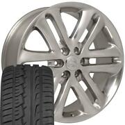 22x9 Wheels And Tires Fit Ford Trucks F150 Style Polished Rims W/ironman 3918 Oew