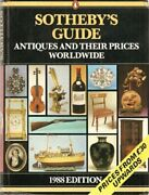 Sothebyand039s Guide To Antiques And Their Prices Worldwide 1... By Sotheby Hardback