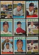 1964 Topps Baseball Miscut Lot Of 57 Cards 50 Different Listed 48698
