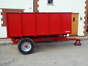 3 Ton Tipping Trailer For Use With Tractor Ideal For Farm Small Hold Stables