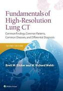 Fundamentals Of High-resolution Lung Ct Common Findings Common Patterns Commo
