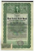 State Of Illinois - Real Estate Gold Bond