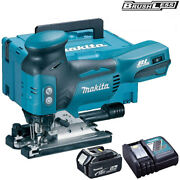 Makita Djv181z 18v Lxt Brushless Jigsaw With 1 X 5.0ah Battery And Charger In Case