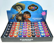 24 Pc Coco Stamps Stampers Party Favors For Candy Bags Gifts Disney