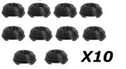 10x Premium Hdmi Cable 100ft For Bluray 3d Dvd Ps4 Hdtv Xbox Hd Lcd Tv 1080p Bk