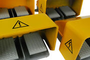5 Pcs Temco Double Extra Heavy Duty Foot Switch Electric Duel Pedal Twin Lot